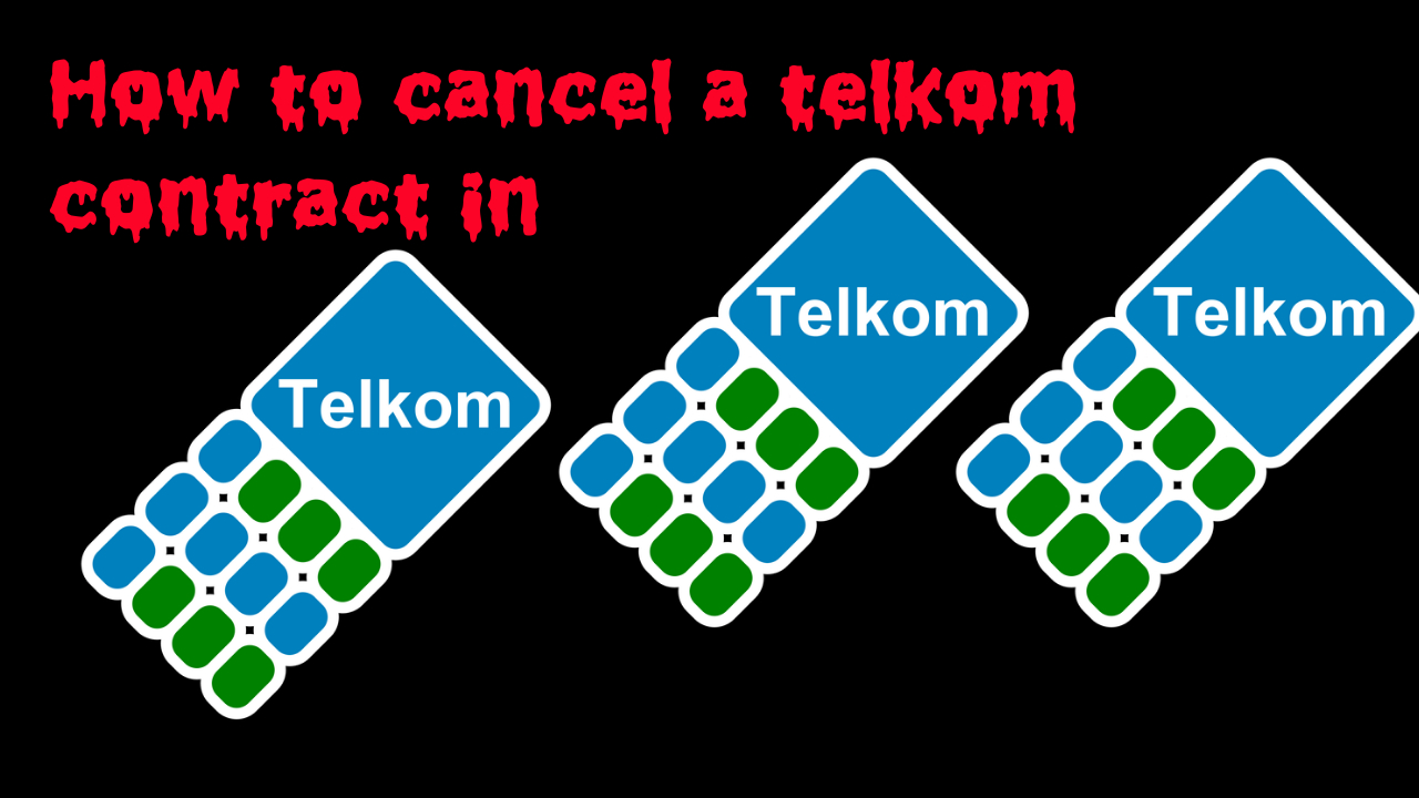 How to cancel a Telkom contract in and become free