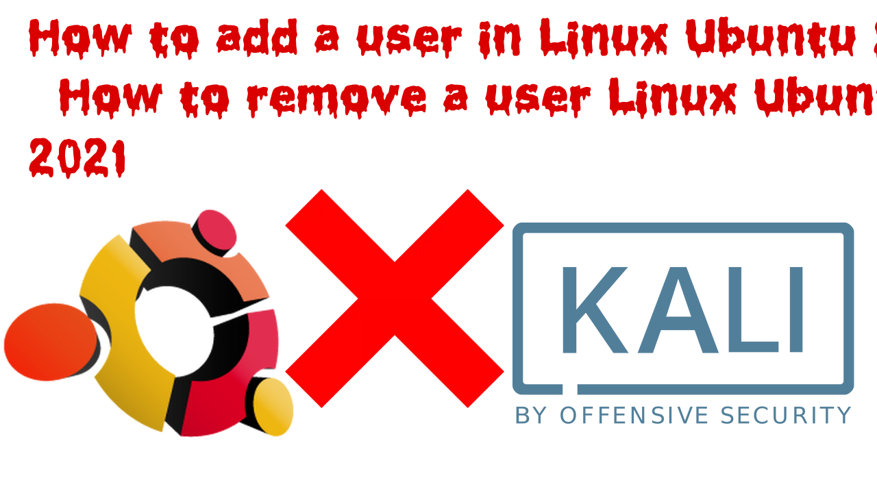 How to add and remove user in ubuntu